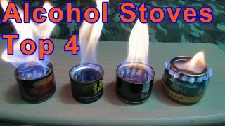 Download My DIY Alcohol Stoves Test - Four Different Designs w/ Specs | Beverage Cans Video