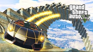 Download GTA 5 PC Mods - IMPOSSIBLE WALLRIDE STUNTS MOD! GTA 5 Ramp Mod Gameplay! (GTA 5 Mods Gameplay) Video