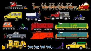Download Winter Vehicles - Snow Plow Truck, Snowmobile & More - The Kids' Picture Show (Fun & Educational) Video