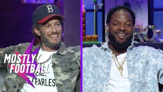 Download Martellus Bennett Takes On Comedian Josh Wolf In ″How Many F**ks″ | Mostly Football Video