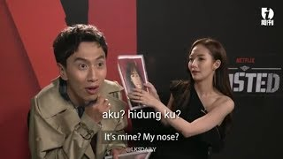 Download Funny !! guess the picture Lee Kwang Soo (이광수) & PARK MIN YOUNG (박민영) Video