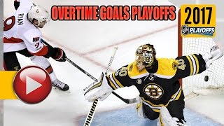 Download NHL Stanley Cup Playoffs 2017 - First Round OT Goals. (HD) Video