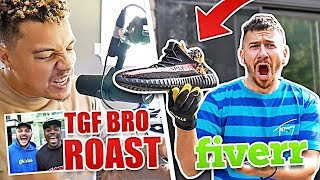 Download FANS PAID US $5 TO DO RANDOM THINGS ON FIVERR (TGF BRO ROAST AND BURNING YEEZYS) Video