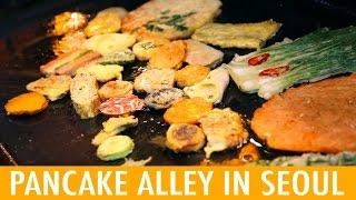 Download Pancake Alley at Gongdeok Market in Korea (KWOW #185) Video