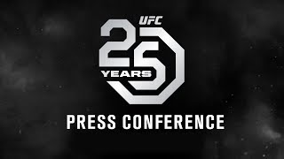 Download UFC 25th Anniversary Press Conference Video