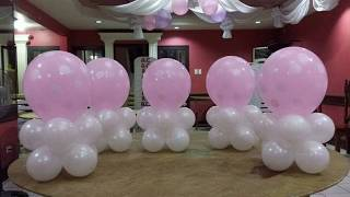 Download BALLOON TABLE CENTERPIECE | VERY EASY Video