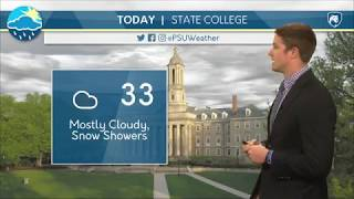 Download Ben's Wednesday Afternoon Forecast 3/14/18 Video