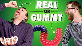 Download Real Food vs. Gummy Food Challenge! Video