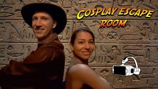Download Indiana Jones and Lara Croft in Cosplay Escape Room Video