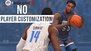 Download NBA Live 18 Won't Let You Edit Players! Will NBA Live 18 Add Player Customization With Day 1 Patch? Video