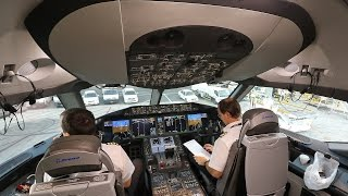 Download Qatar Airways B787-8 Dreamliner First Class Doha Dubai shuttle Video