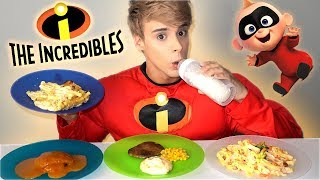 Download i only ate THE INCREDIBLES foods for 24 hours Video