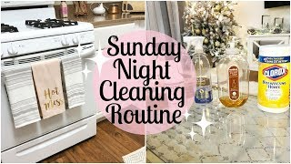 Download SUNDAY NIGHT CLEANING ROUTINE 2018 | EXTREME CLEANING MOTIVATION | Tara Henderson Video