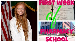 Download MY FIRST WEEK OF PHARMACY SCHOOL! Video