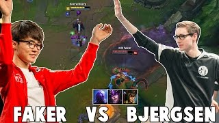 Download WHEN BJERGSEN VS FAKER IN NA CHALLENGER Video
