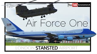 Download President Donald Trump Air Force One Arrival London UK State Visit Us Air Force VC25 Video
