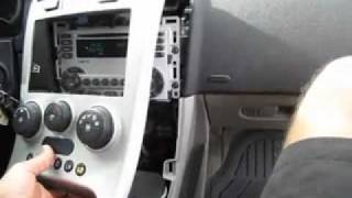 Download Factory Car Stereo Removal 2006 Chevrolet Equinox Video