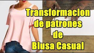 Download Como hacer los patrones de blusa casual Video