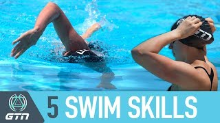 Download Top 5 Essential Swim Skills To Master | Triathlon Swimming Tips For Beginners Video