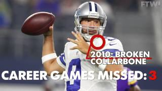 Download Breakdown: Tony Romo's career injuries Video