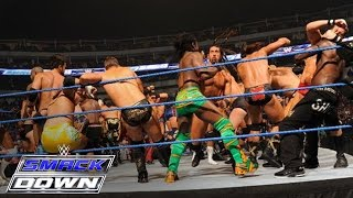 Download 41-Man Battle Royal for a Championship Match of Winner's Choosing: SmackDown, October 14, 2011 Video