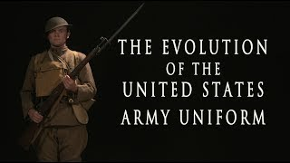 Download Evolution of the United States Army Uniform - HD Video