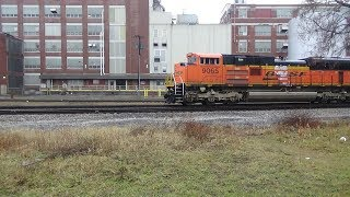 Download BNSF Eastbound Coal Train Video