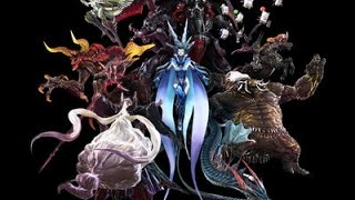 Download FFXIV - All ″Summons″ & Signature moves Video