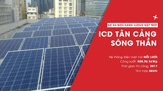 Download Dự án Điện Năng Lượng Mặt Trời ở IDC Tân Cảng Sóng Thần Video