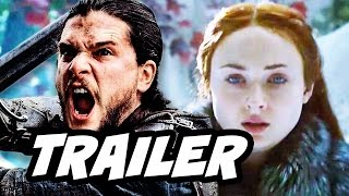 Download Game Of Thrones Season 7 Jon Snow Sansa Arya Teaser Trailer Breakdown Video