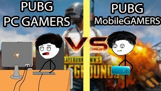 Download PUBG Mobile Gamers VS Pc Gamers Video