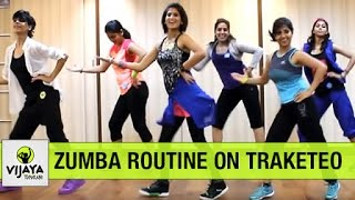 Download Zumba Routine on Traketeo | Zumba Dance for Beginners | Choreographed by Vijaya Tupurani Video