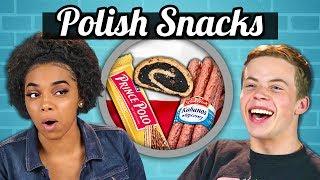 Download TEENS EAT POLISH SNACKS! | Teens Vs. Food Video