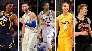Download NBA 1st Team All Rookie   Best Plays From Donovan Mitchell, Jayson Tatum, Ben Simmons + More Video