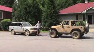 Download Off-Roading in a 2006 Range Rover Video