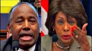 Download Maxine Waters makes Ben Carson Squirm when asked about Trump's Tweets Video