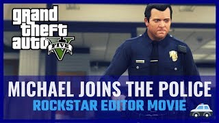 Download GTA V - Michael joins the police! Video