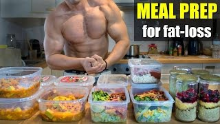Download BEST 1 WEEK MEAL PREP | CHEAP & EASY Video