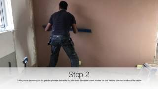 Download Plastering - Skimming, one coat sponge Video