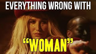Download Everything Wrong With Kesha - ″Woman″ Video