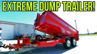Download Finally an OVERBUILT TRAILER! Check this beast out! Texas Pride! Video