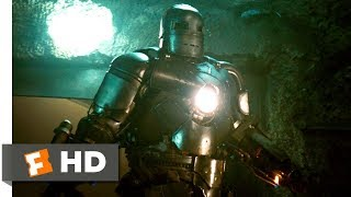 Download Iron Man (2008) - Cave Battle Scene (3/9) | Movieclips Video