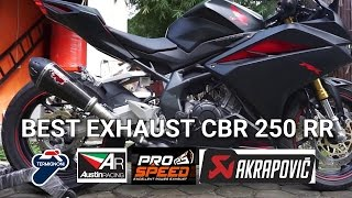 Download Best Exhaust Sound CBR250RR | Akrapovic | Termignoni | R9 | Red Muffler | Austin Racing Video