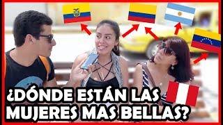 Download ¿Qué país tiene las Mujeres más BELLAS de Latinoamérica? | Peruvian Life Video