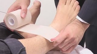 Download How To Tape A Sprained Ankle Video