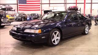 Download 1989 Ford Thunderbird Blue Video