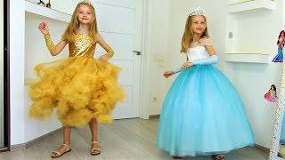 Download Полина и мама как принцессы и вечеринка для друзей Video