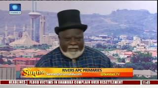 Download Rivers APC Factions Faceoff As Court Nullifies Primary Election Pt.4 |Sunrise| Video