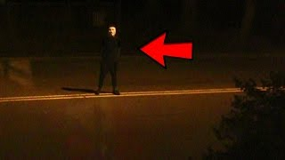 Download CREEPY GUY STANDS OUTSIDE FAZE HOUSE AT 1AM Video