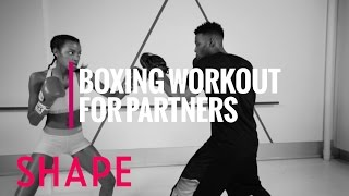 Download Ebonee Davis' Partner Boxing Workout | Shape Video